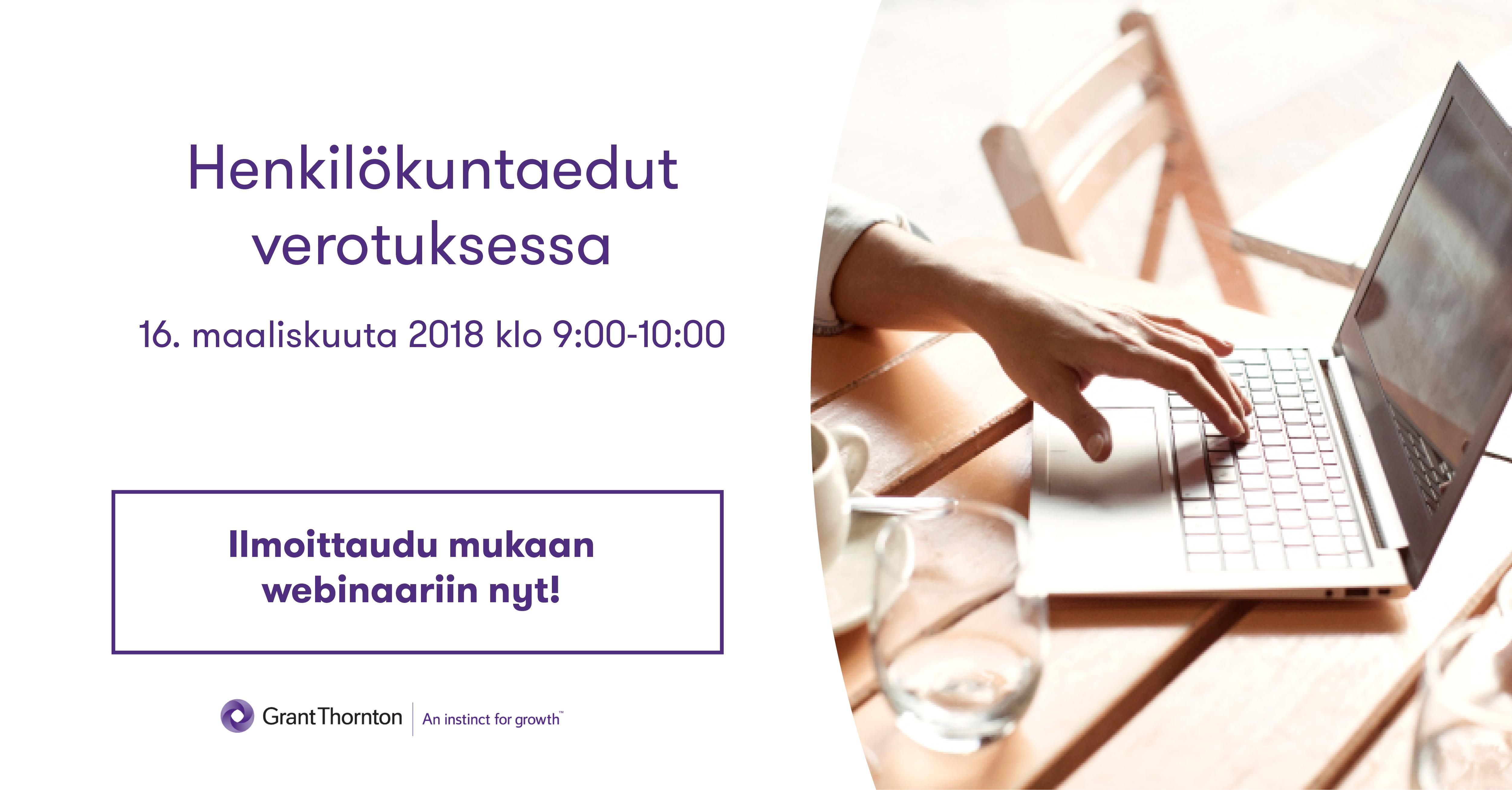 Verovapaat henkilökuntaedut 2018
